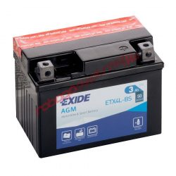 Exide akkumulátor, YTX4L-BS