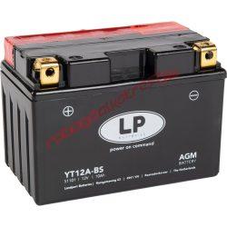LP akkumulátor, YT12A-BS