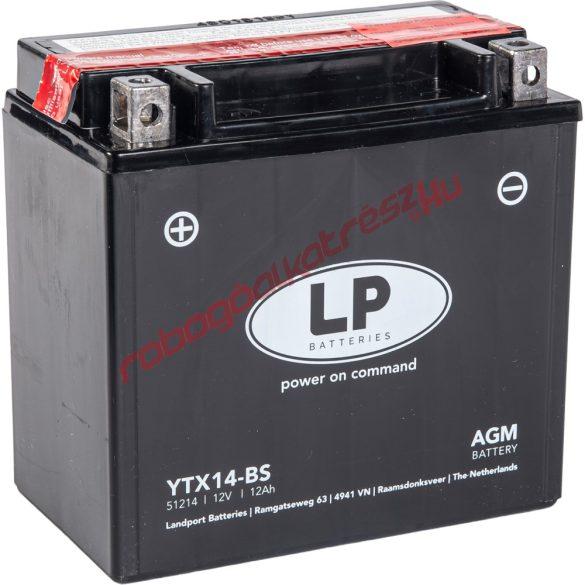 LP akkumulátor, YTX14-BS