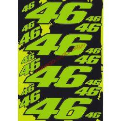 Matrica szett, Rossi 46, Zöld