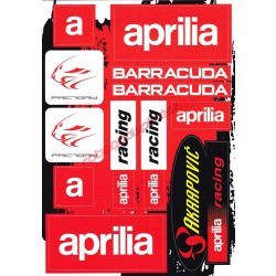 Matrica szett, Aprilia Factory Racing