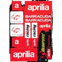 Matrica szett, Aprilia Factory Racing