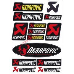 Matrica szett, Akrapovic II