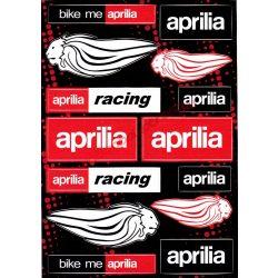 Matrica szett, Aprilia Racing, Fekete