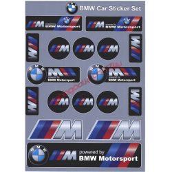 Matrica szett, BMW Motorsport