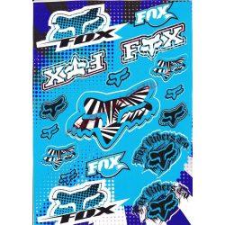 Matrica szett, Fox, Kék