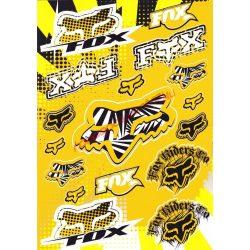Matrica szett, Fox, Sárga