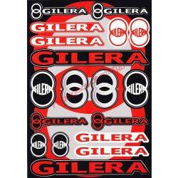 Matrica szett, Gilera