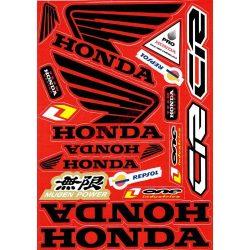 Matrica szett, Honda CR
