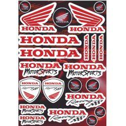 Matrica szett, Honda MotorSports