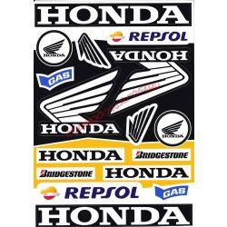 Matrica szett, Honda Szponzor II