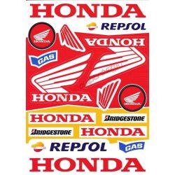 Matrica szett, Honda Szponzor I