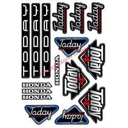 Matrica szett, Honda Today