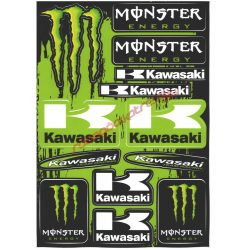 Matrica szett, Kawasaki Monster