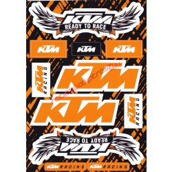 Matrica szett, KTM Racing