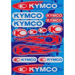 Matrica szett, Kymco, Ezüst