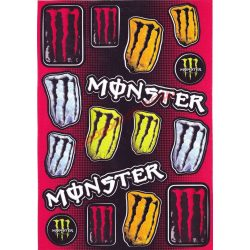 Matrica szett, Monster I