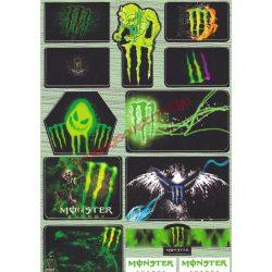 Matrica szett, Monster III