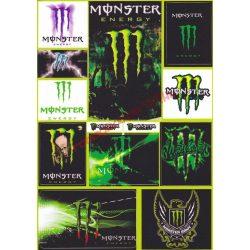 Matrica szett, Monster V