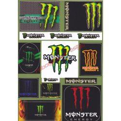 Matrica szett, Monster VI