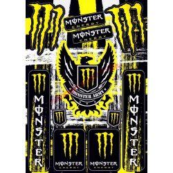 Matrica szett, Monster Army, Citrom