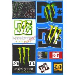 Matrica szett, Monster DC, A5