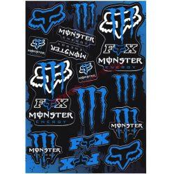 Matrica szett, Monster Fox, Kék