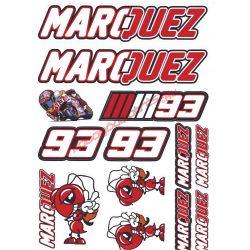 Matrica szett, Marquez 93