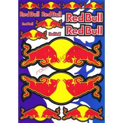 Matrica szett, Red Bull
