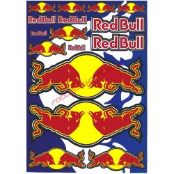Matrica szett, Red Bull, A5
