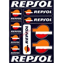 Matrica szett, Repsol
