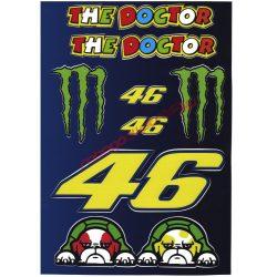 Matrica szett, Rossi Monster