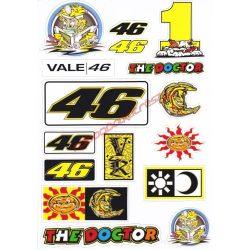 Matrica szett, Rossi Original