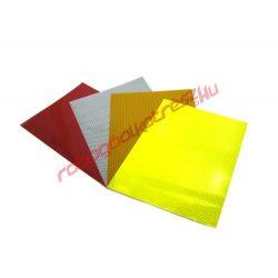 Fényvisszaverő matrica, Több féle színben