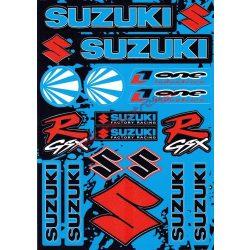 Matrica szett, Suzuki GSX-R kék