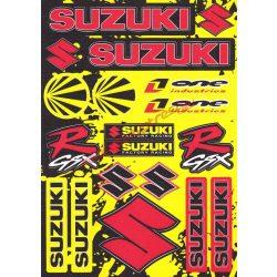 Matrica szett, Suzuki GSX-R sárga