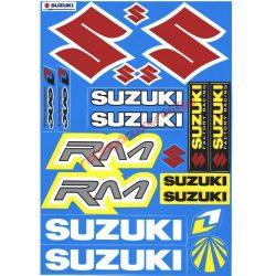 Matrica szett, Suzuki RM, Kék