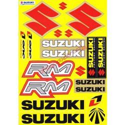 Matrica szett, Suzuki RM, Sárga