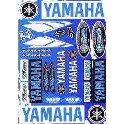 Matrica szett, Yamaha, Kék