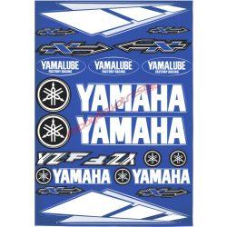 Matrica szett, Yamaha YZF, Kék
