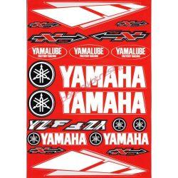 Matrica szett, Yamaha YZF, Piros