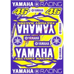 Matrica szett, Yamaha Factory Racing