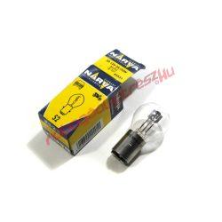 NARVA első lámpa izzó, 12V 35/35W (BA20D)